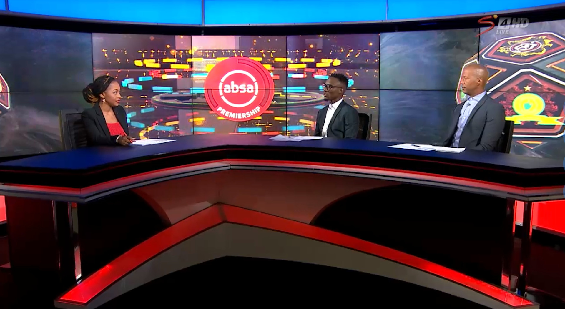 Absa Premiership | Bloemfontein Celtic v SuperSport United | halftime chat