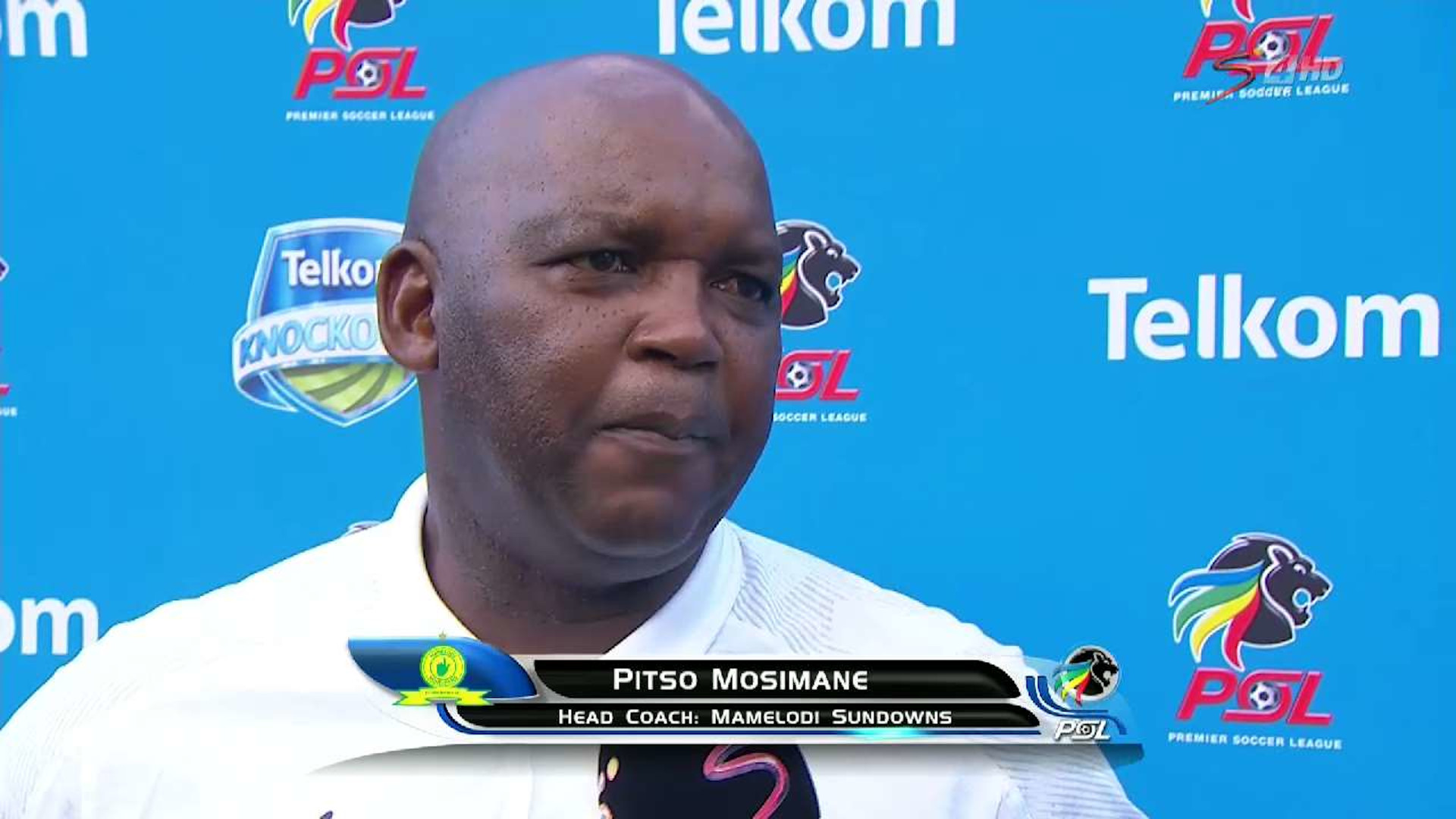 Telkom Knockout | Last 16 | Pitso Mosimane | Post-match Interview