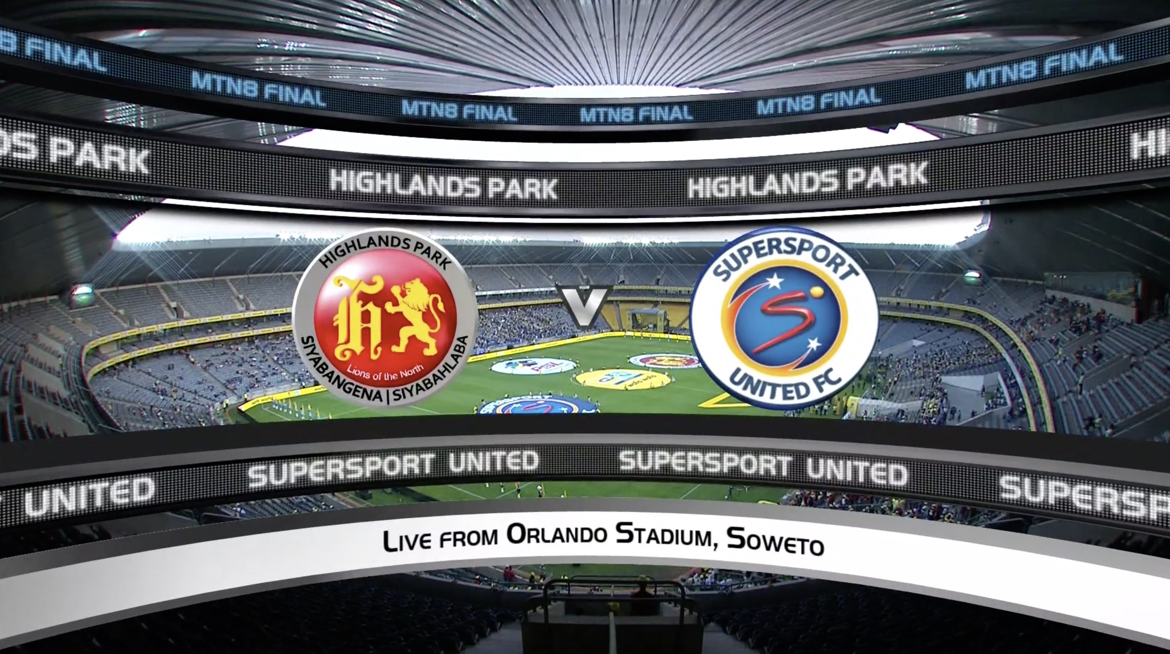 MTN8 | | Final | SuperSport United v Highlands Park | Highlights