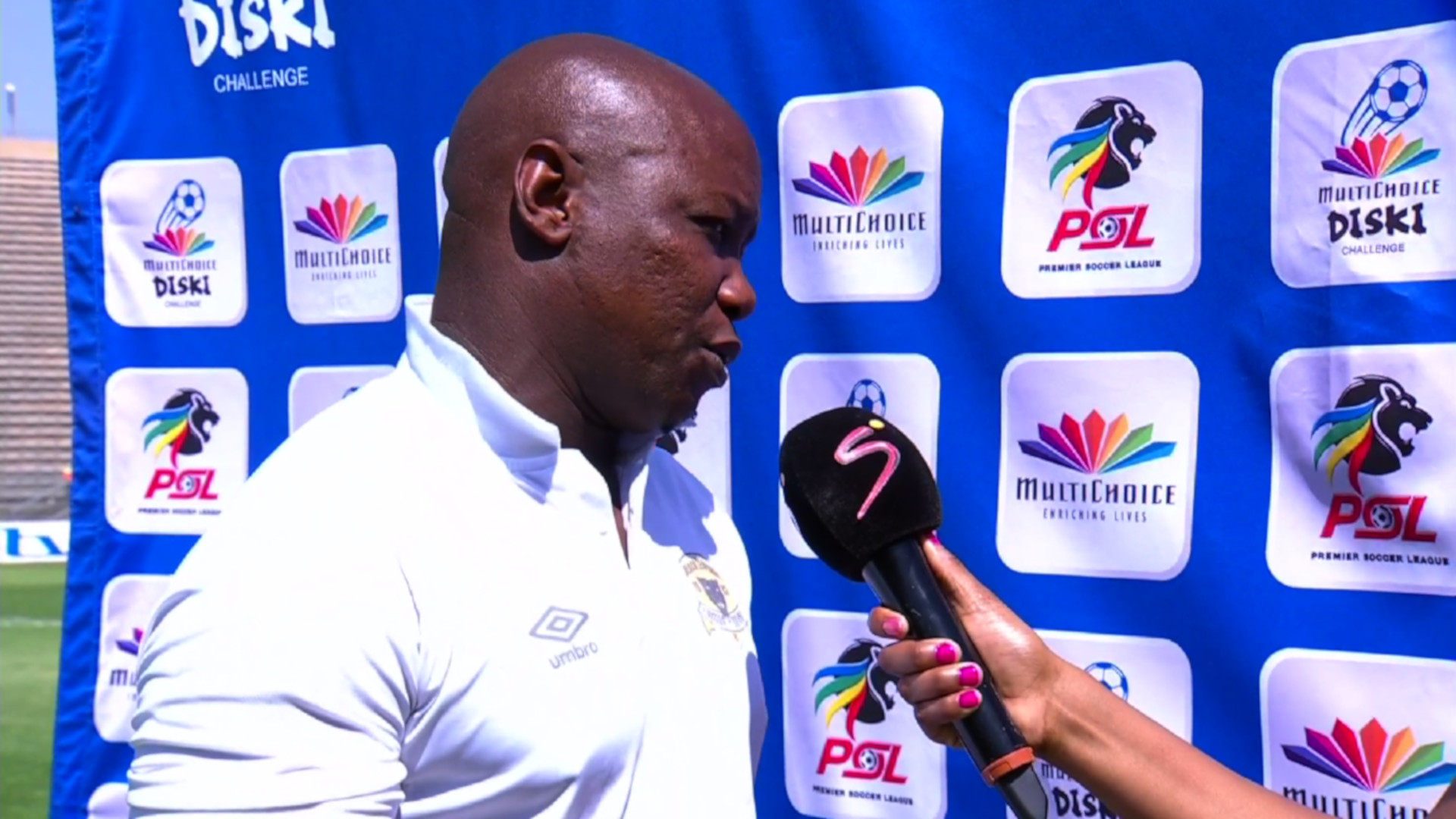 MultiChoice Diski Challenge | Highlands Park Reserves v Black Leopards Reserves | Post-match interview with Mongezi Bobe