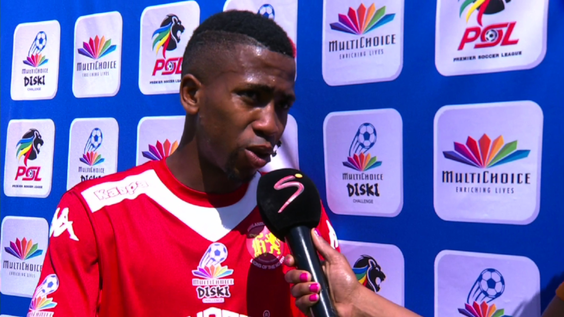 MultiChoice Diski Challenge | Highlands Park Reserves v Black Leopards Reserves | Post-match interview with Lucky Mdingi