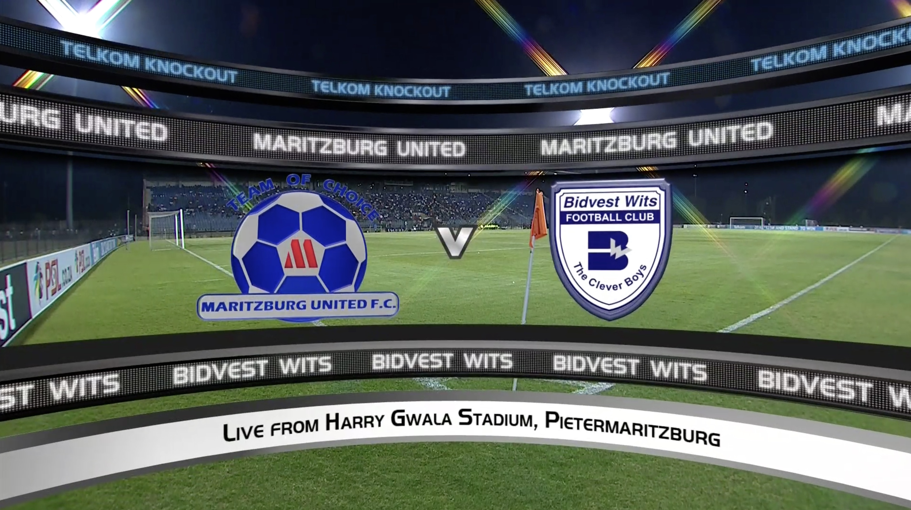 Telkom Knockout | Last 16 | Maritzburg United v Bidvest Wits | Highlights