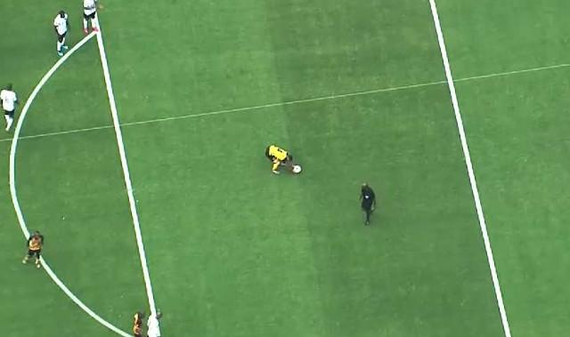 Absa Premiership   Kaizer Chiefs v Orlando Pirates   Kaizer Chiefs penalty