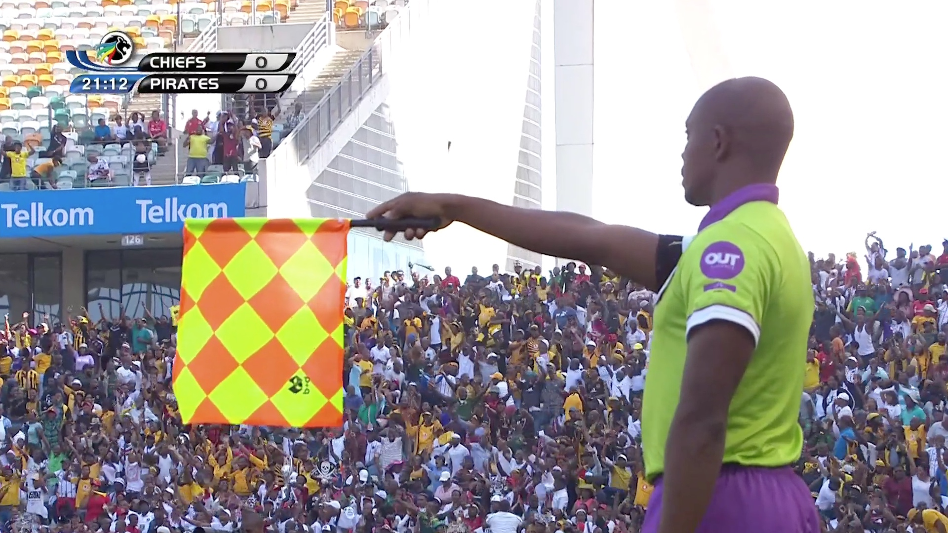Telkom Knockout | Kaizer Chiefs v Orlando Pirates | Another controversial offside call