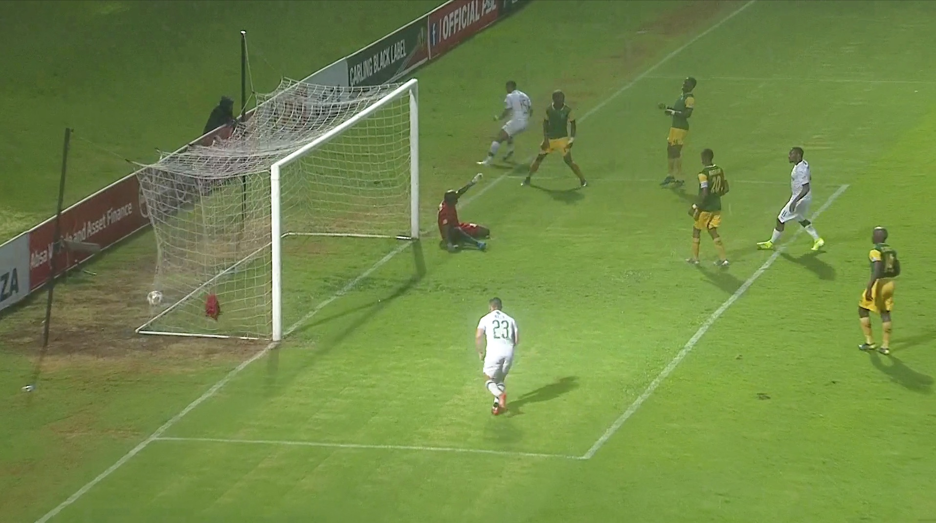 Absa Premiership   Golden Arrows v Mamelodi Sundowns   Goals Highlights