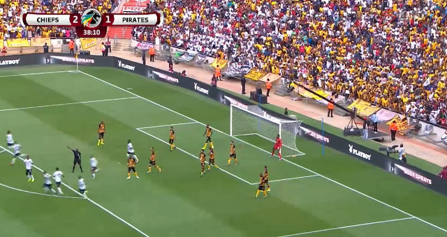 Absa Premiership | Kaizer Chiefs v Orlando Pirates | Vincent Pule scores for Orlando Pirates
