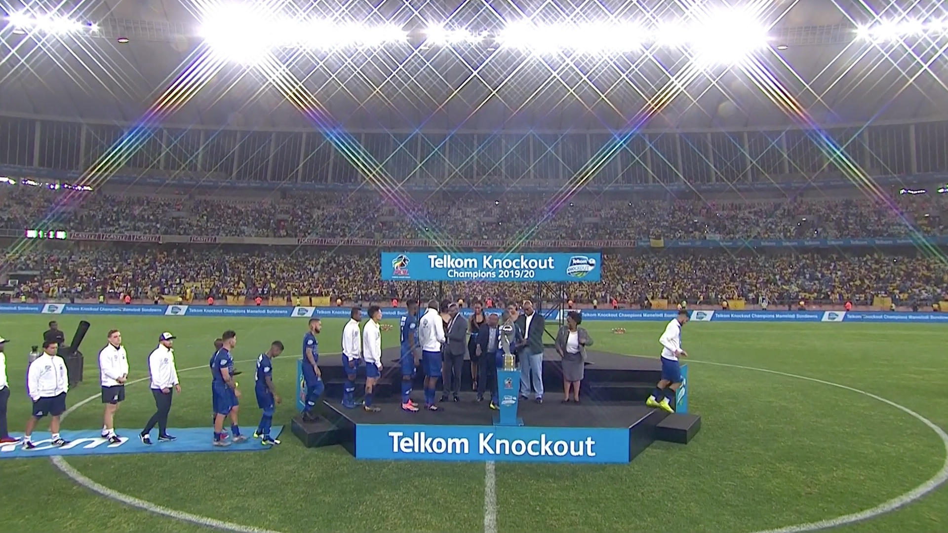 Telkom Knockout | Maritzburg v Sundowns | Runners-Up medals for Maritzburg Maritzburg