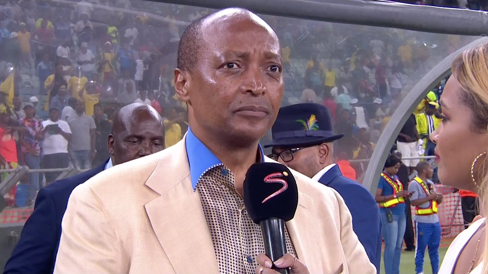 Telkom Knockout | Maritzburg v Sundowns | Post-match interview with Dr. Patrice Motsepe