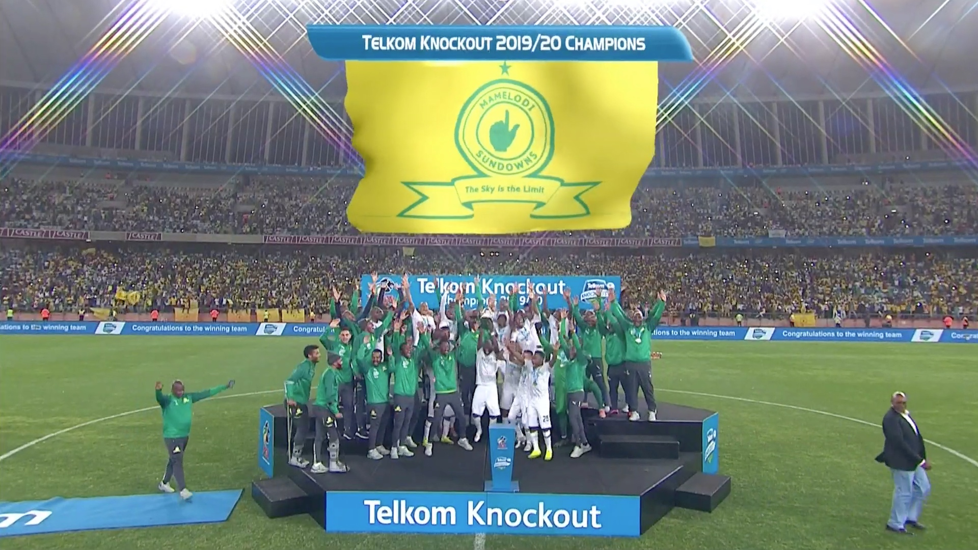 Telkom Knockout | Maritzburg v Sundowns | Sundowns lifts the 2019 TKO Cup