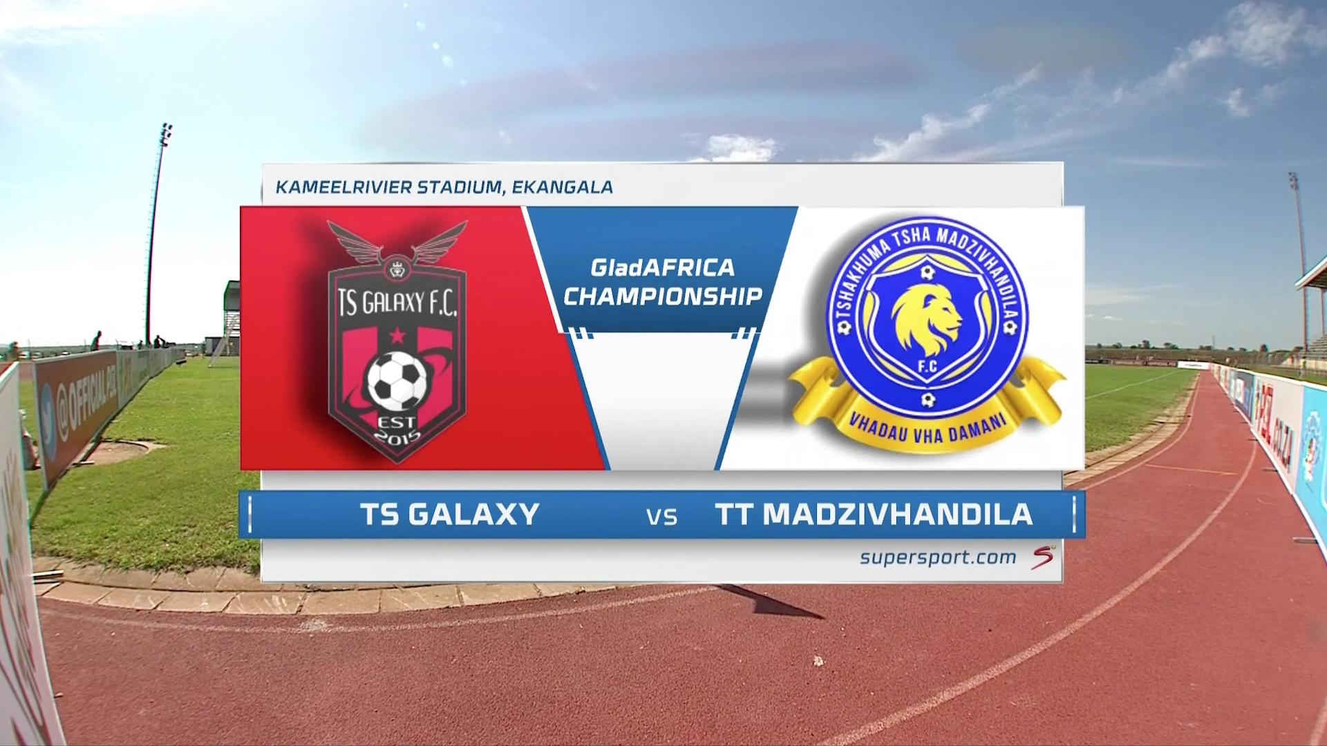 GladAfrica Championship | TS Galaxy v Tshakhuma FC | Highlights