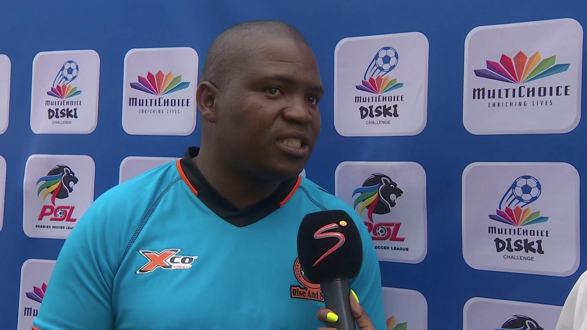 MultiChoice Diski Challenge | PLK City v Chiefs | Post-match interview with Machete Moloto