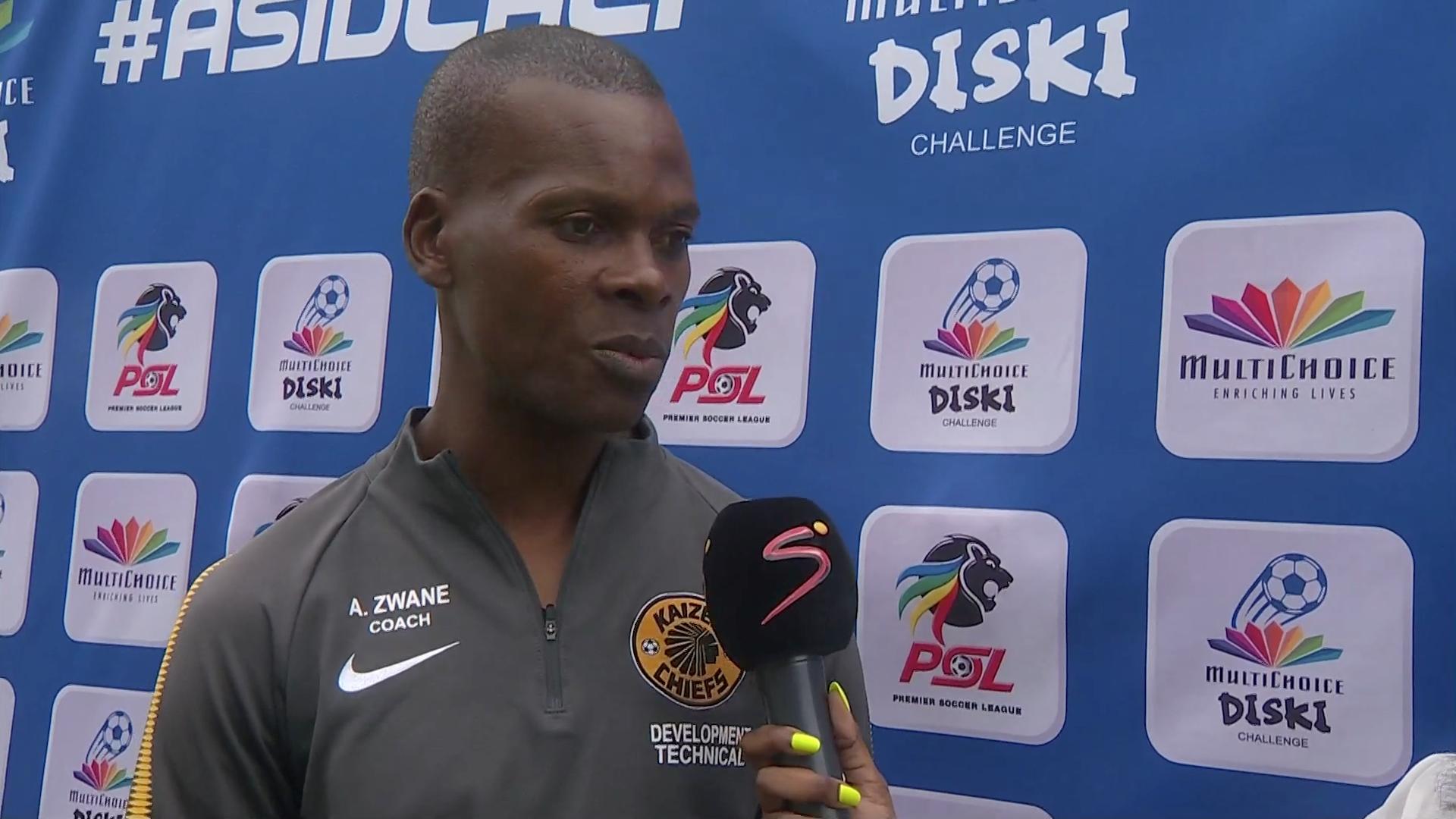 MultiChoice Diski Challenge | PLK City v Chiefs | Post-match interview with Arthur Zwane