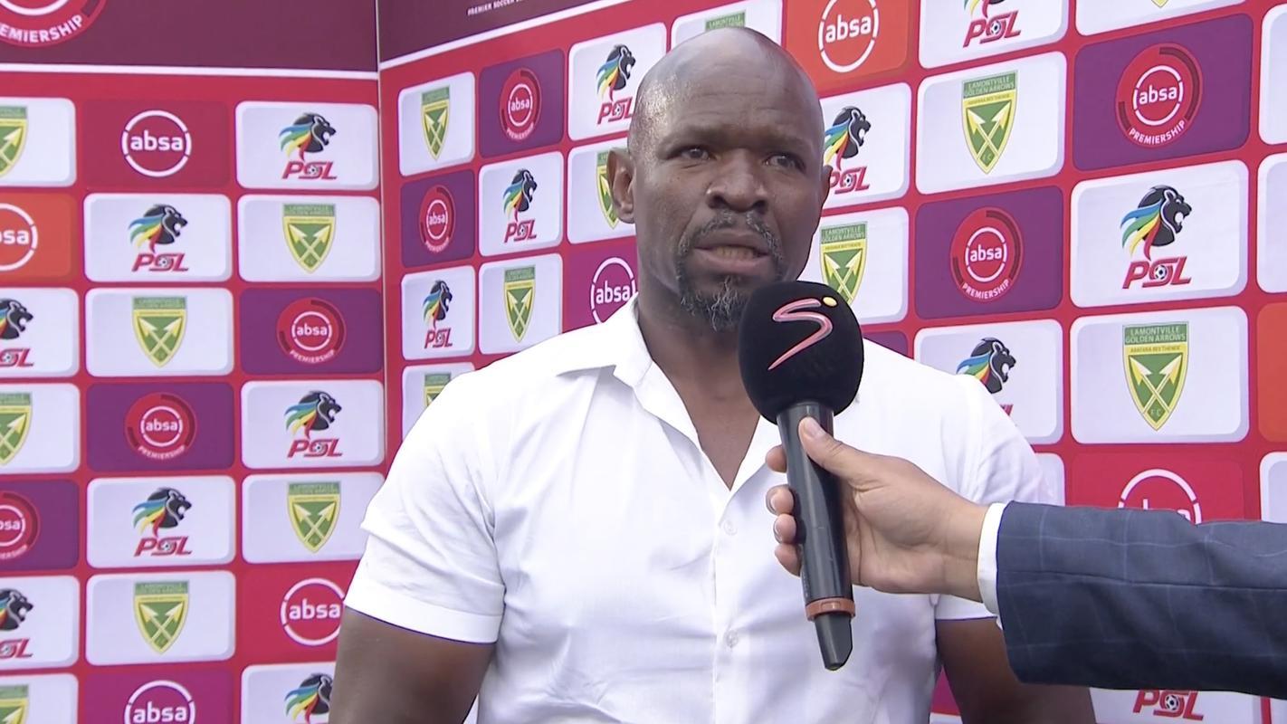 Post-match interview: Stephen Komphela