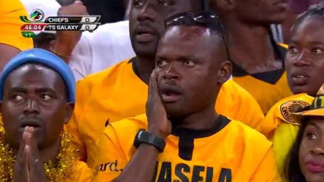 Kaizer Chiefs v Galaxy: Halftime