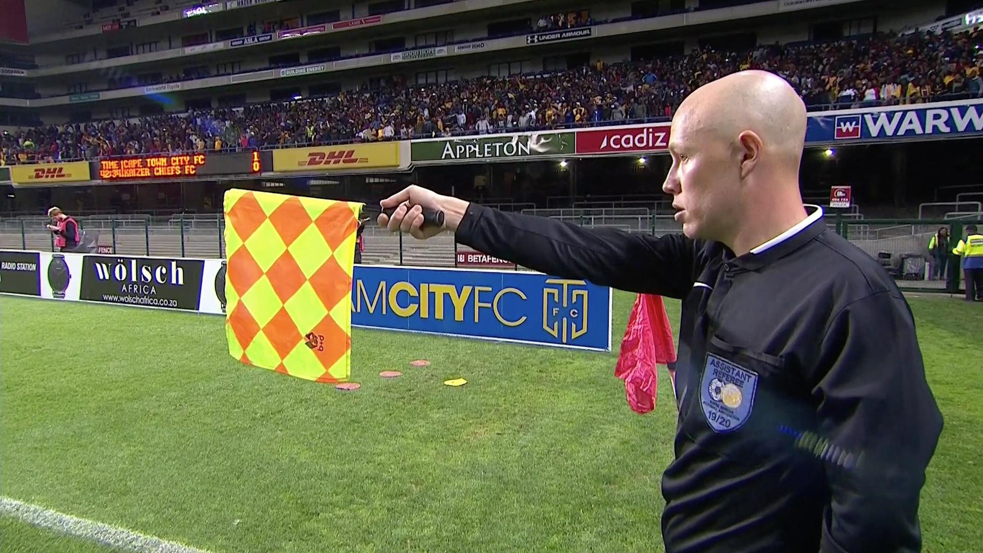 Absa Premiership 2019/20 | Cape Town City v Kaizer Chiefs |Disallowed goal