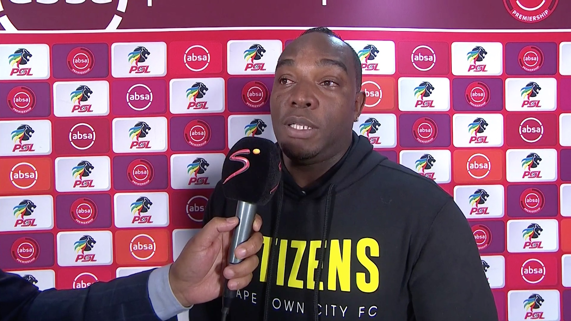 Absa Premiership 2019/20 | Cape Town City v Kaizer Chiefs | Benni McCarthy interview