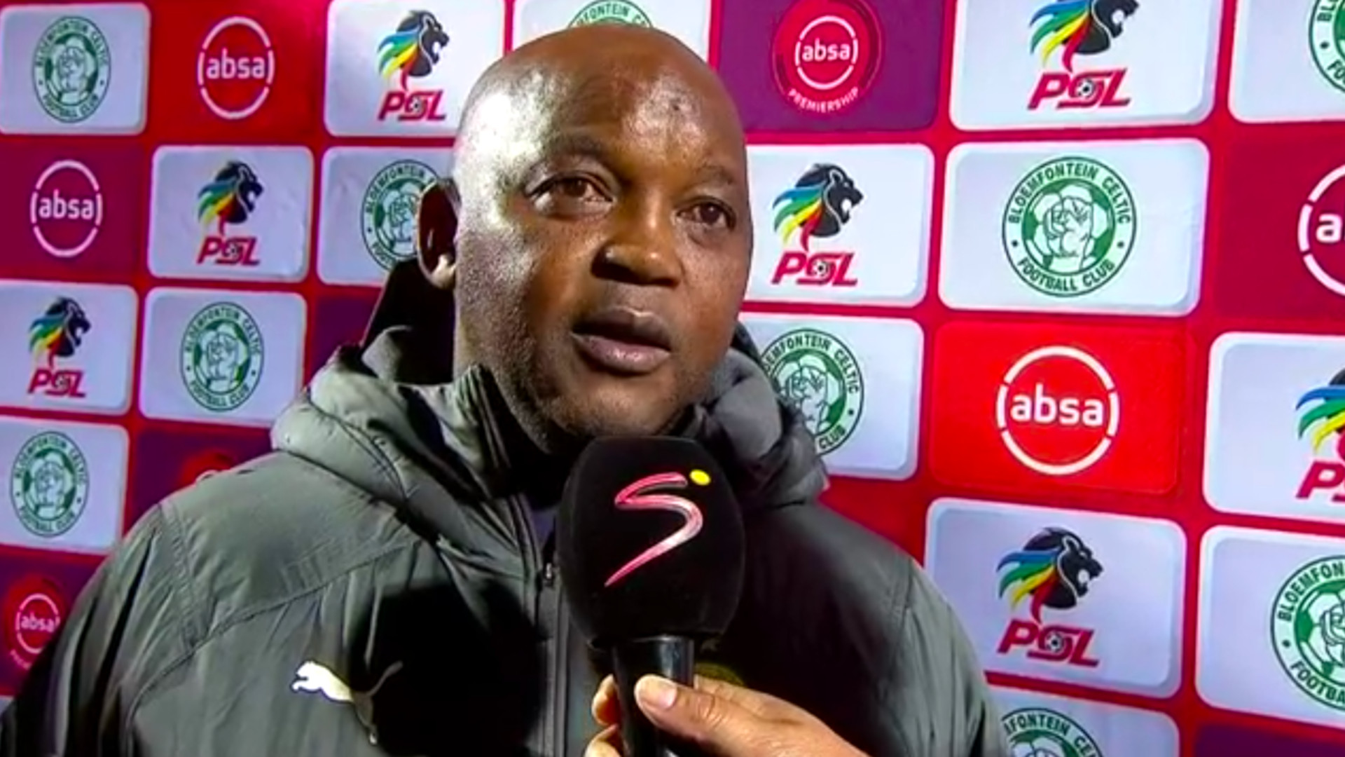 Absa Premiership 2019/20 | Celtic v Sundowns | Pitso Mosimane | Interview