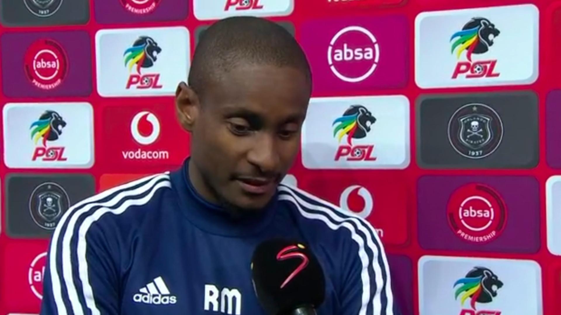 Absa Premiership 2019/20 | Pirates v Arrows | Rhulani Mokwena | Interview