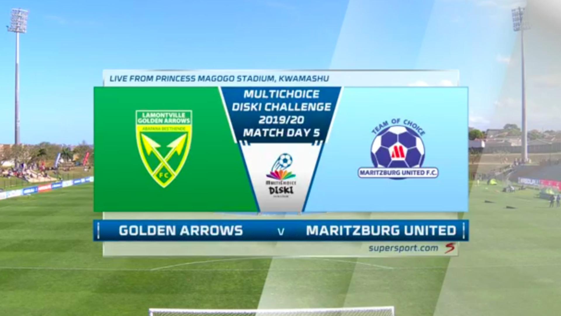MultiChoice Diski Challenge | Golden Arrows v Maritzburg United | Highlights