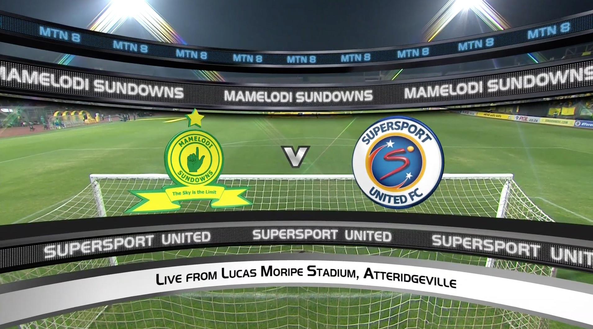 MTN8 | Semifinal | Mamelodi Sundowns v SuperSport Unitedt | Highlights