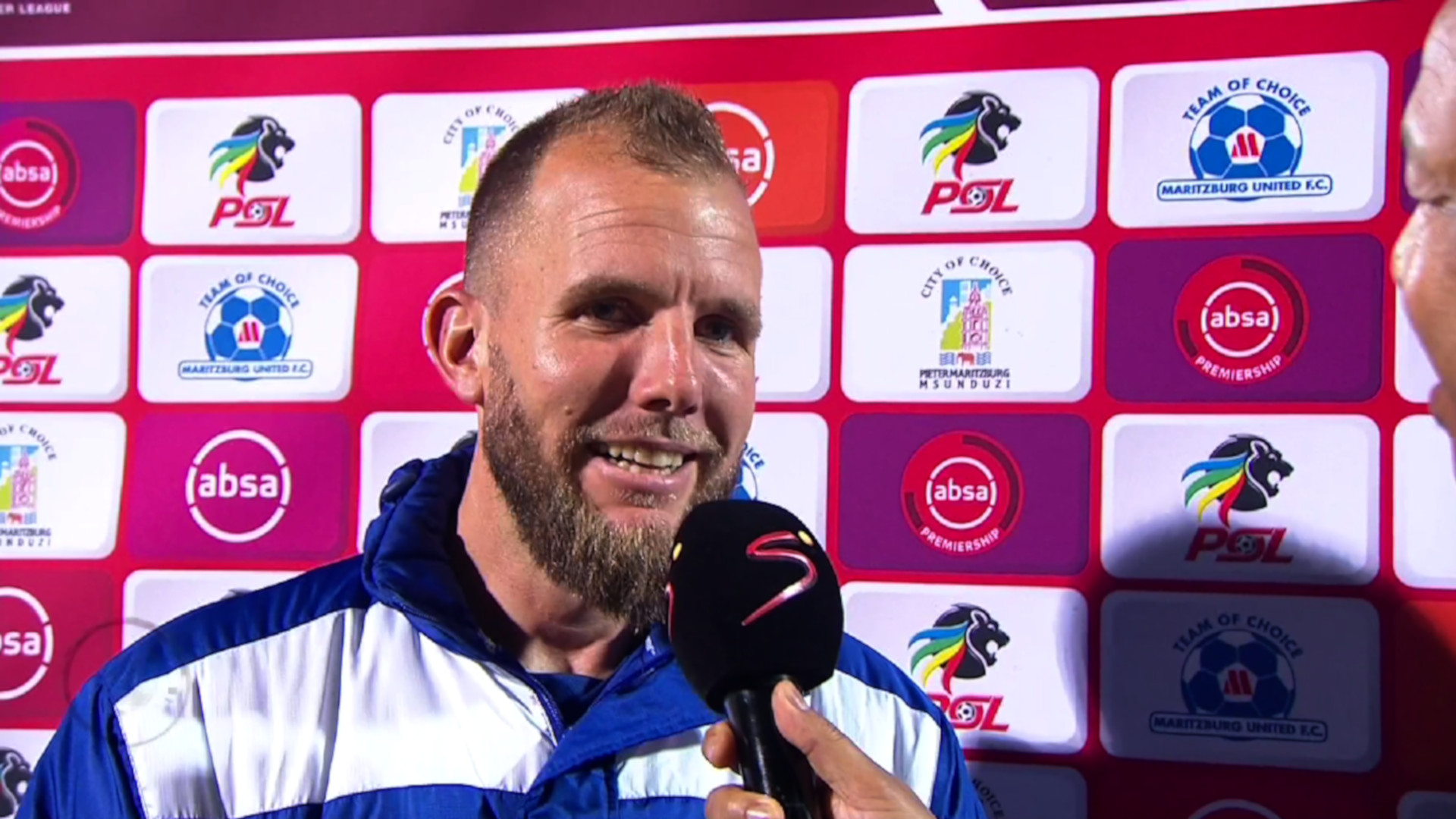 Absa Premiership | Maritzburg United v Chippa United | Post-match interview with Jeremy Brockie