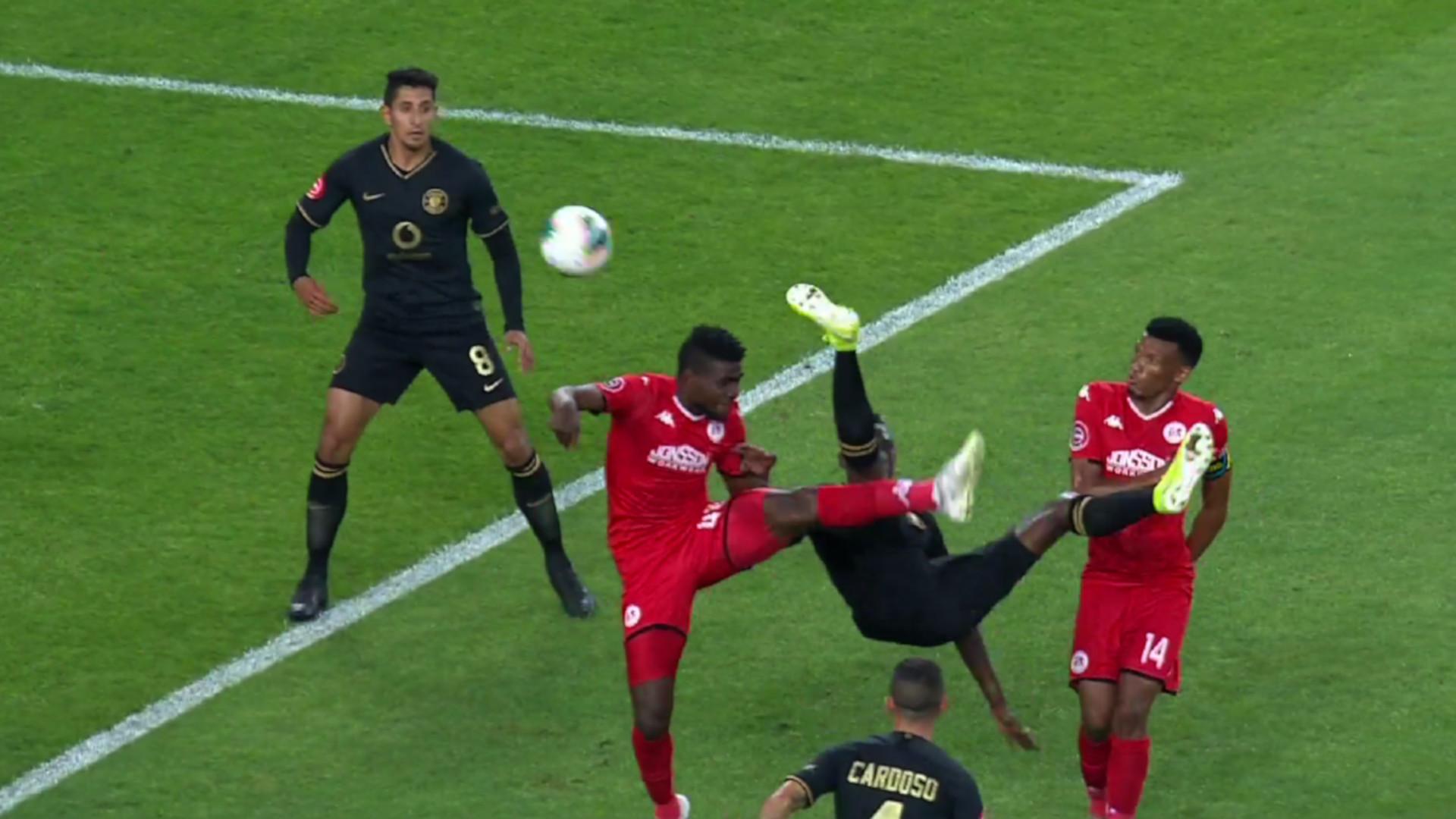 Absa Premiership 2019/20 | Kaizer Chiefs v Highlands Park | Mathoho's goal