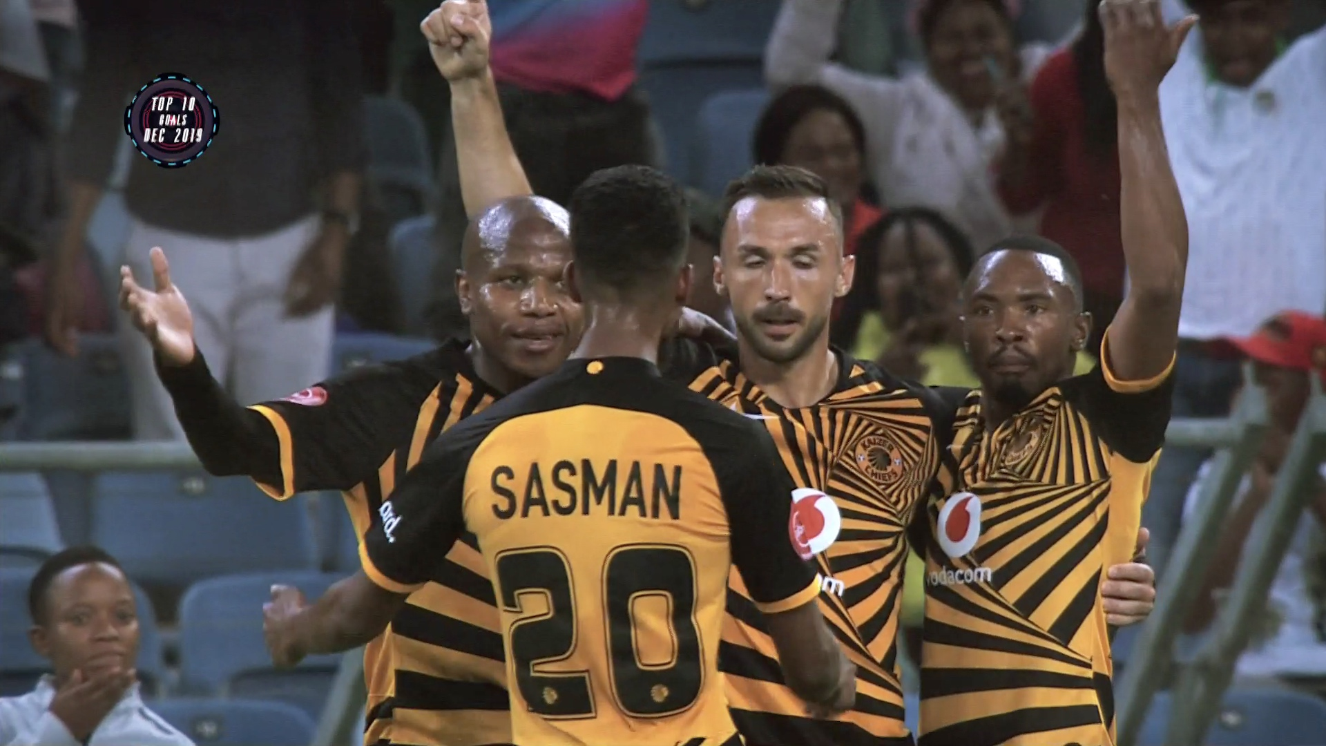 Absa Premiership | December 2019 | Top 10 Goals