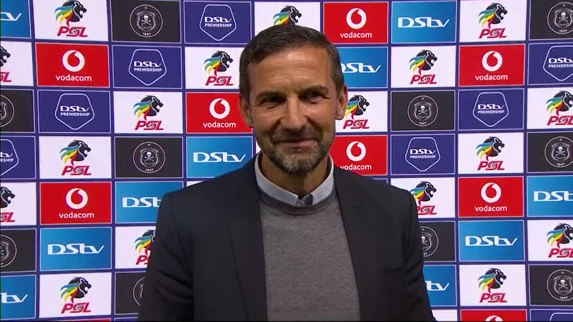 DStv Premiership | Orlando Pirates v Stellenbosch FC | Post-match interview with Josef Zinnbauer