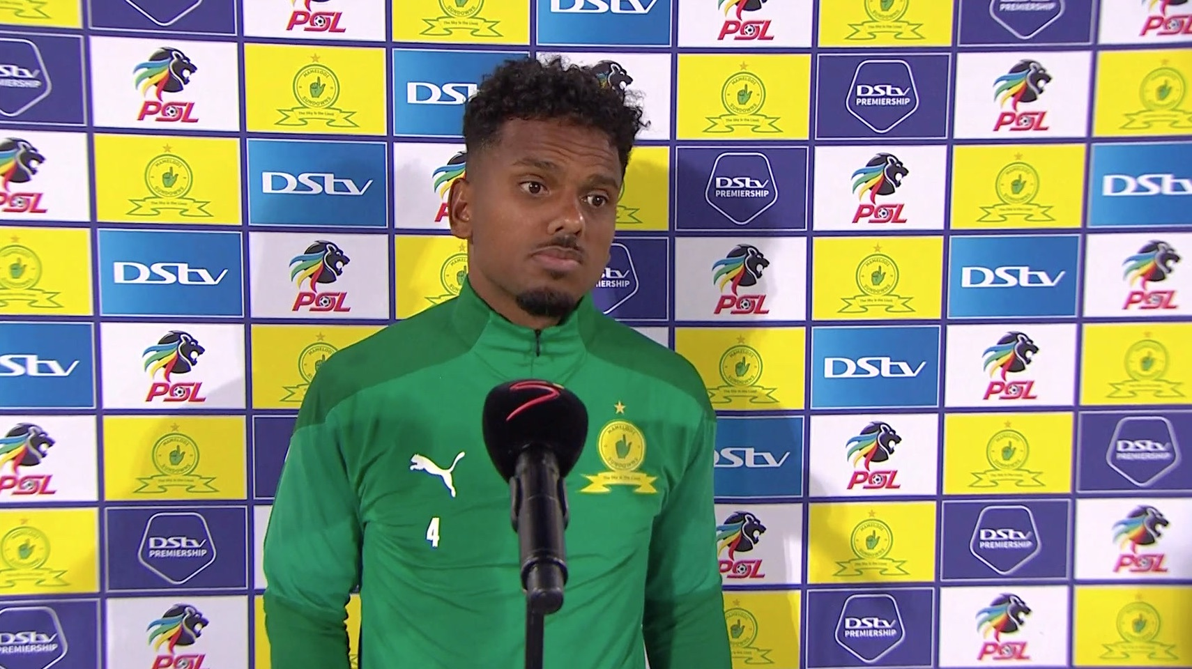 DStv Premiership | Mamelodi Sundowns v Stellenbosch FC  | Interview with Kermit and Manqoba
