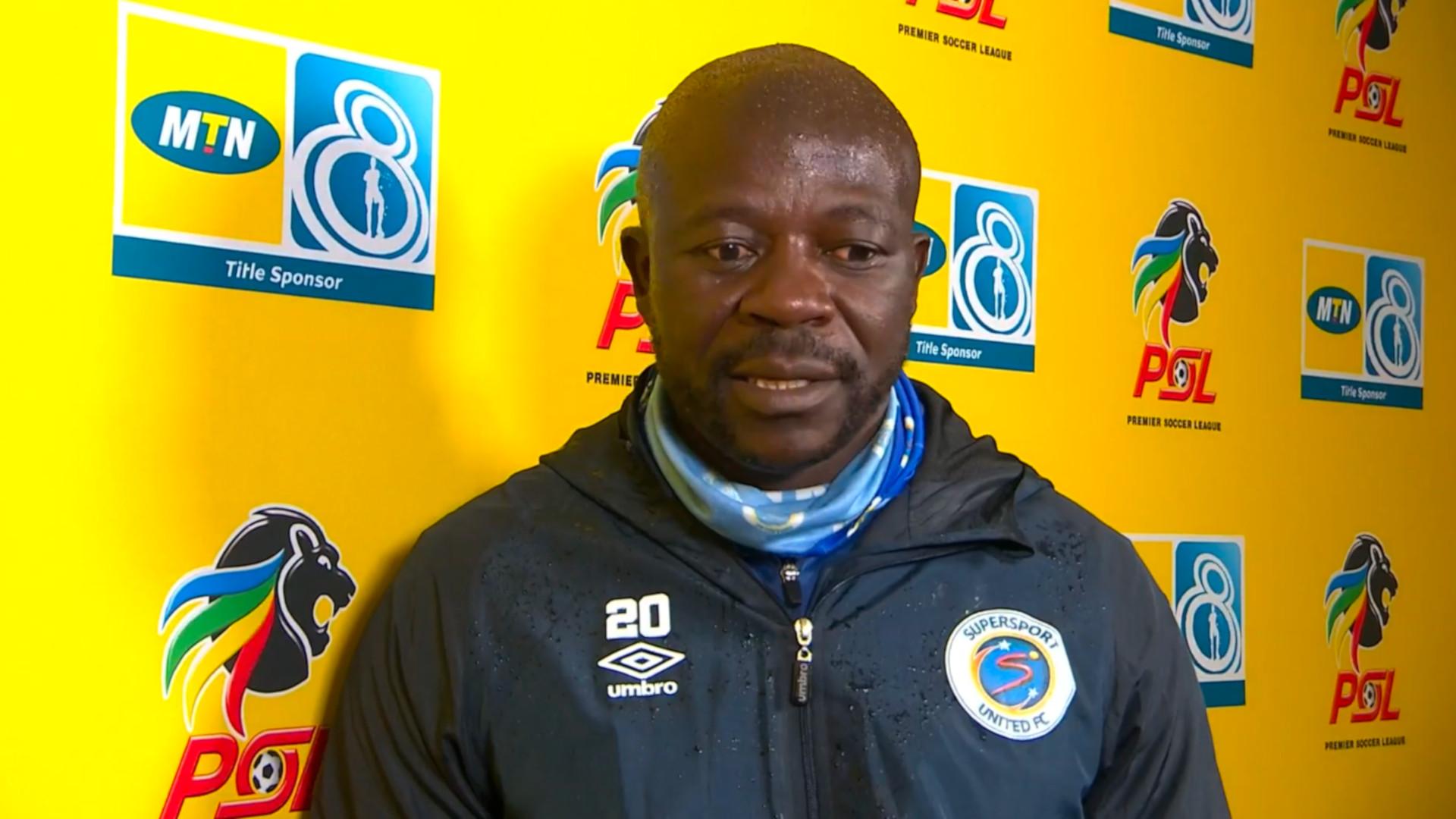 MTN8 | SF | 1st Leg | SuperSport United v Bloemfontein Celtic | Post-match interview with Kaitano Tembo