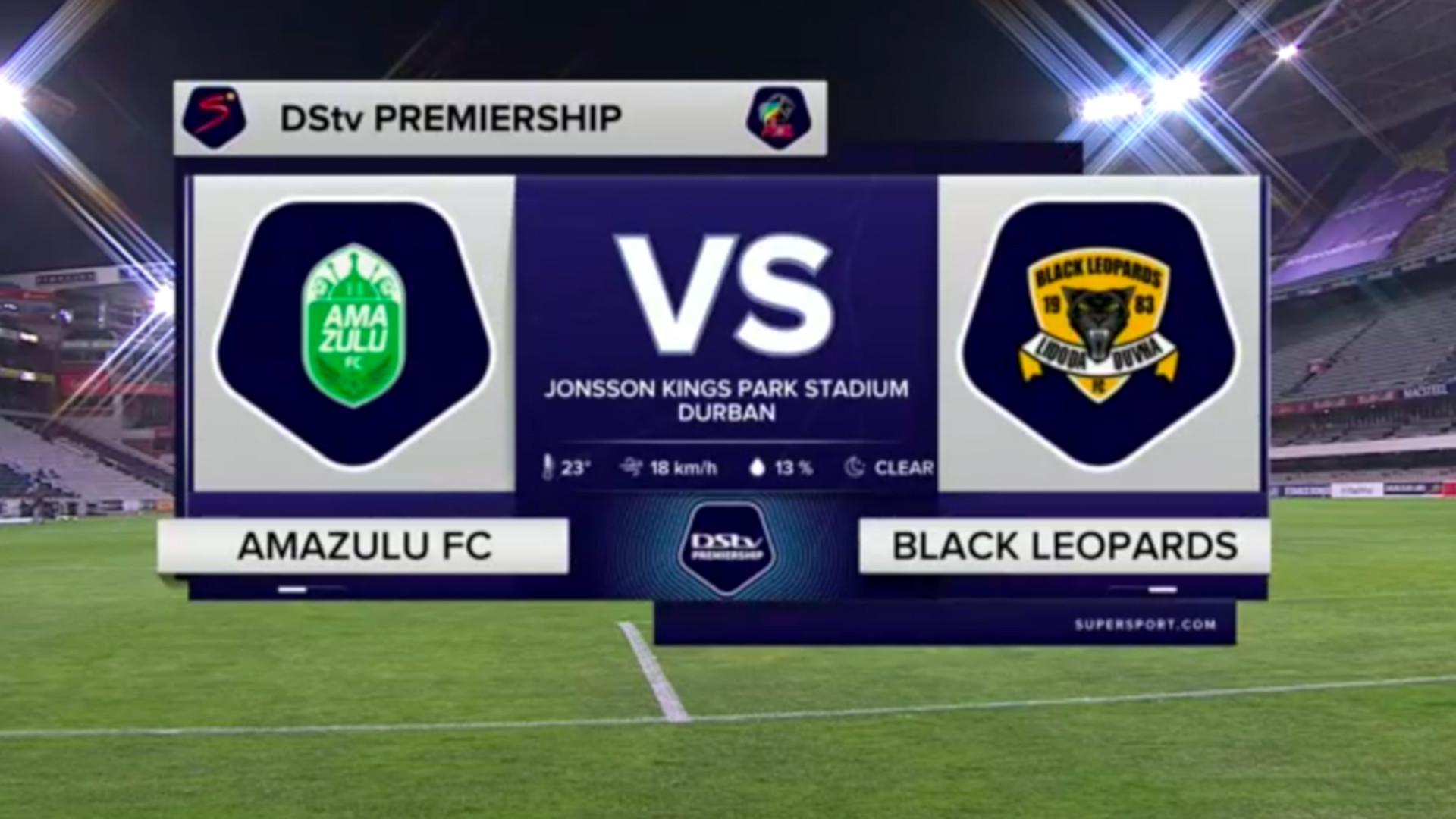 DStv Premiership | AmaZulu v Black Leopards l Highlights