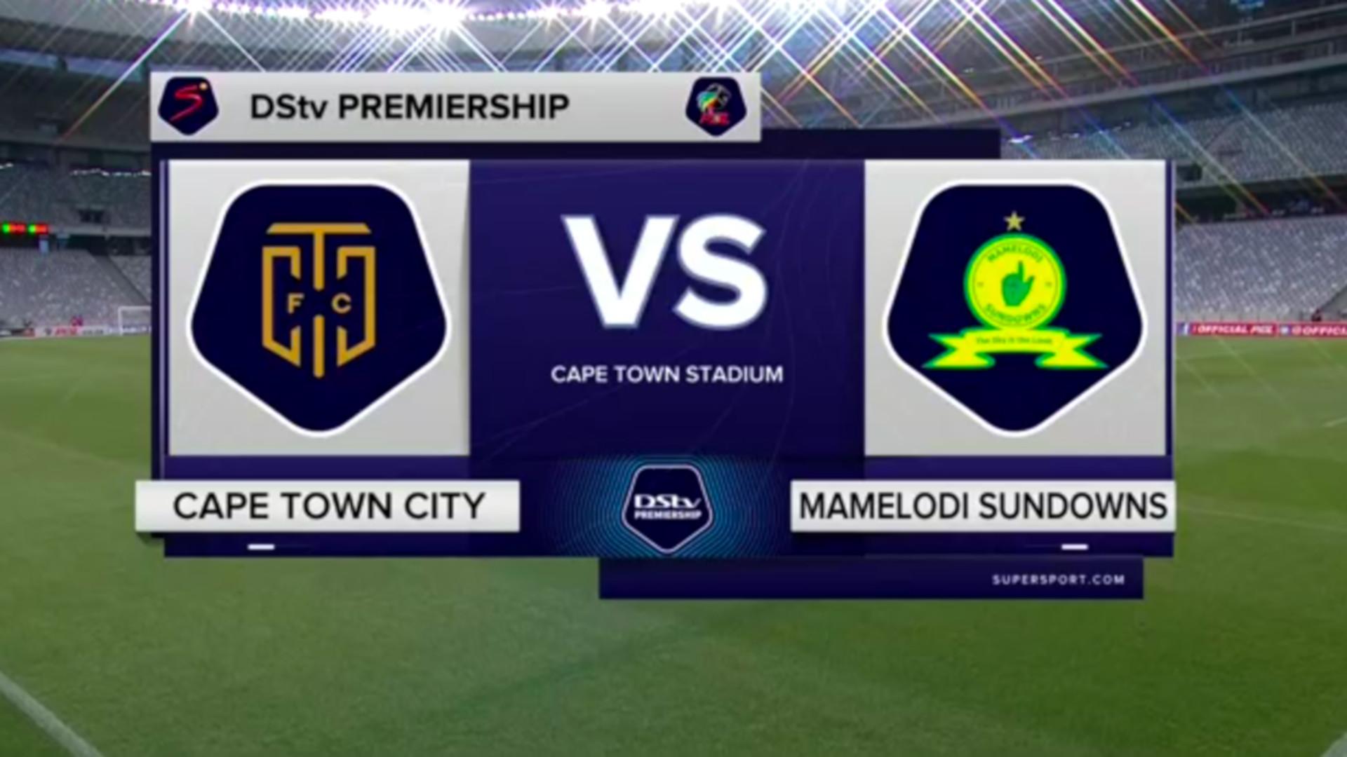 DStv Premiership | Cape Town City v Mamelodi Sundowns l Highlights