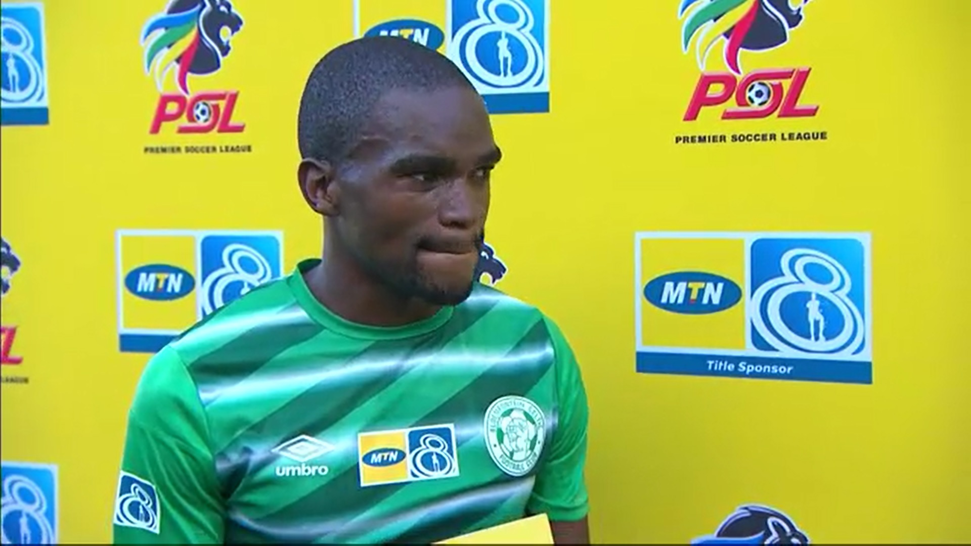 MTN8 | SF | 2nd Leg | Bloemfontein Celtic v SuperSport United | Post-match interview with Siphelele Luthuli
