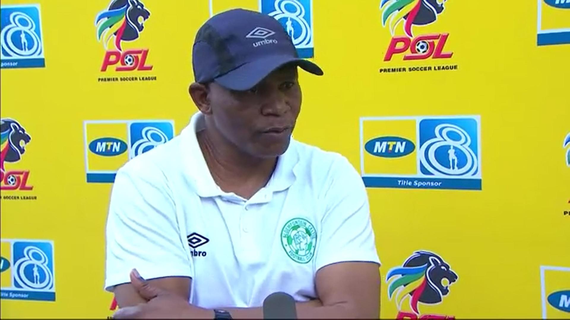 MTN8 | SF | 2nd Leg | Bloemfontein Celtic v SuperSport United | Post-match interview with John Maduka