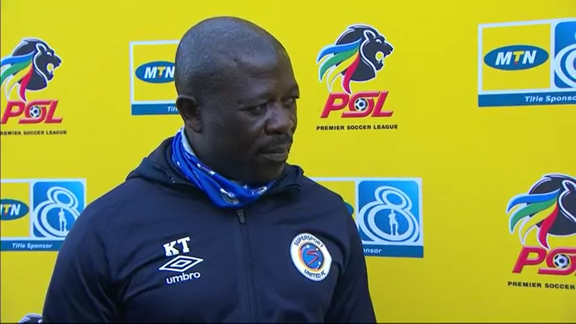 MTN8 | SF | 2nd Leg | Bloemfontein Celtic v SuperSport United | Post-match interview with Kaitano Tembo