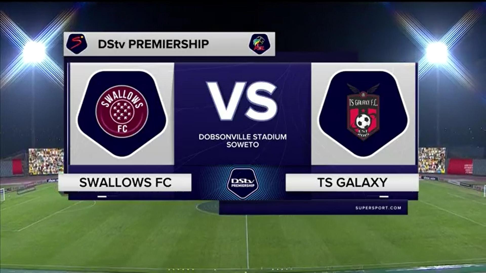 DStv Premiership | Swallows FC v TS Galaxy FC | Highlights