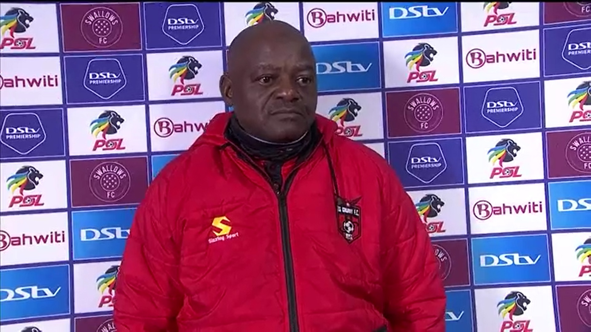 DStv Premiership | Swallows FC v TS Galaxy FC | Post-match interview with Dan Malesela