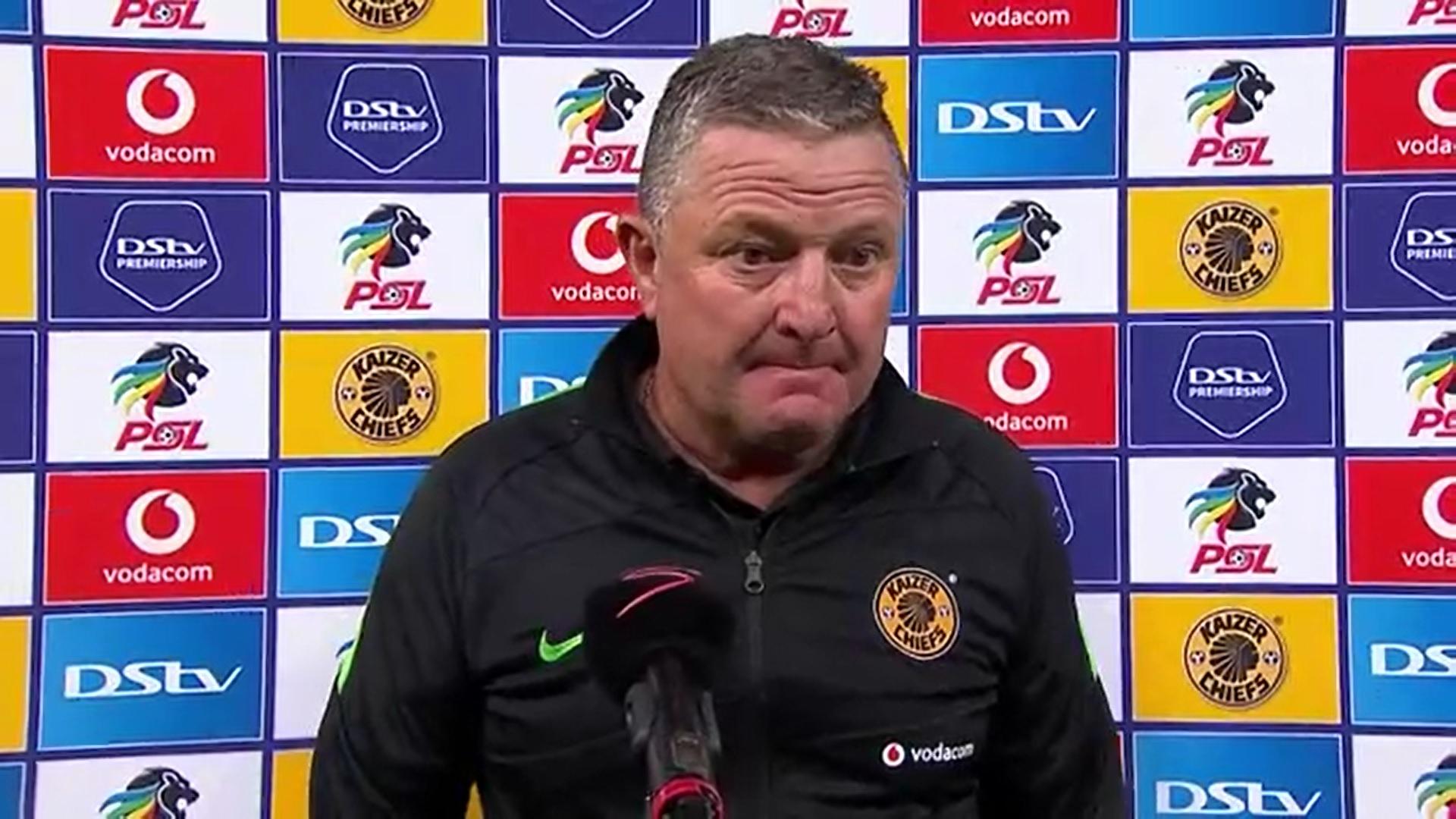 DStv Premiership | Kaizer Chiefs v Black Leopards | Post-match interview with Gavin Hunt