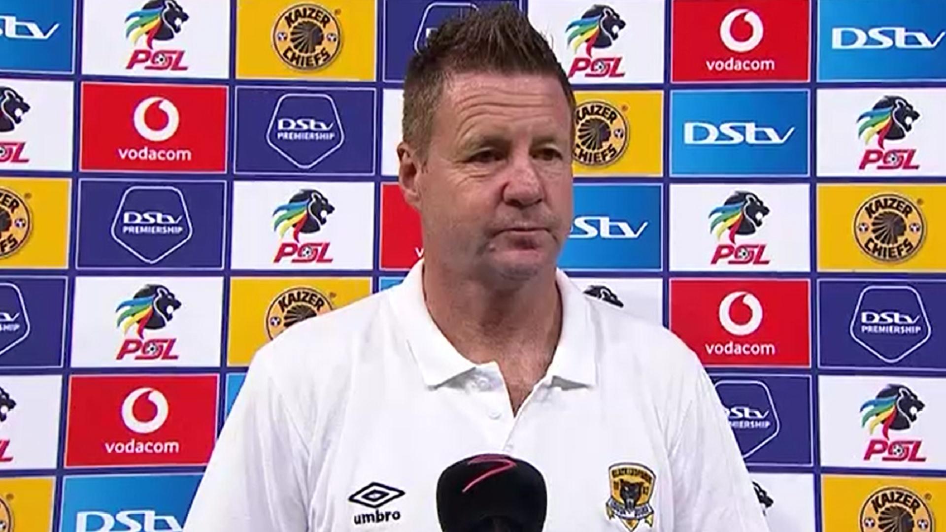 DStv Premiership | Kaizer Chiefs v Black Leopards | Post-match interview with Dylan Kerr