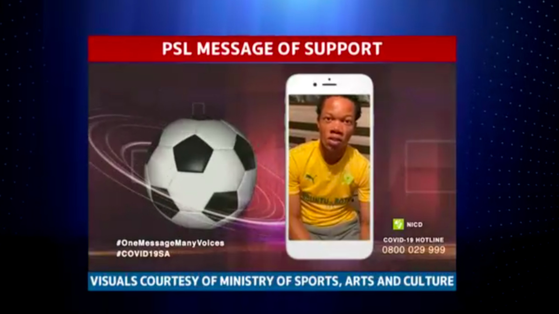 Football | PSL message of support