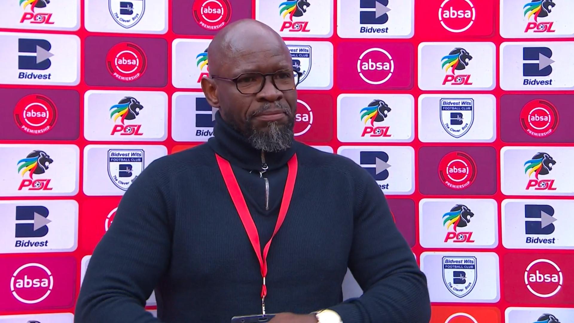Absa Premiership 2019/20 | Bidvest Wits and Golden Arrows | Post-match interview with Stephen Komphela
