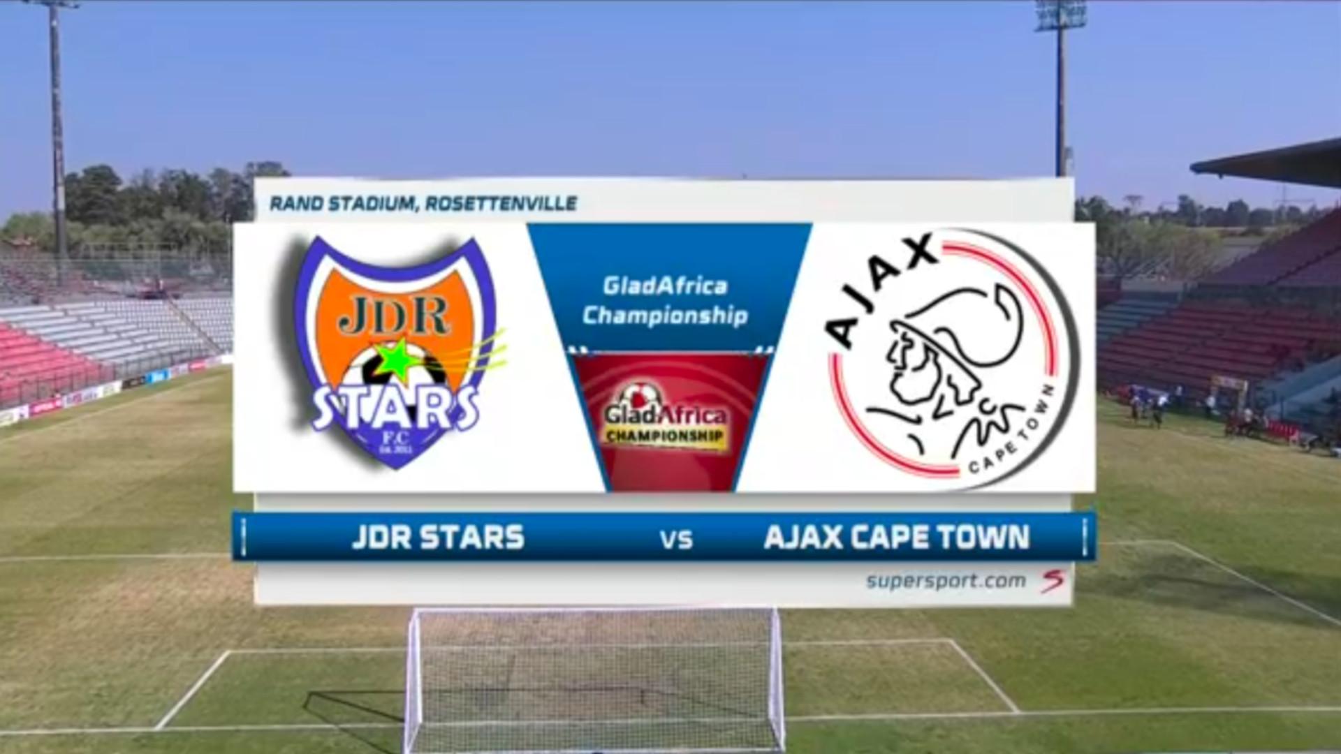 GladAfrica Championship | JDR Stars v Ajax Cape Town | Highlights