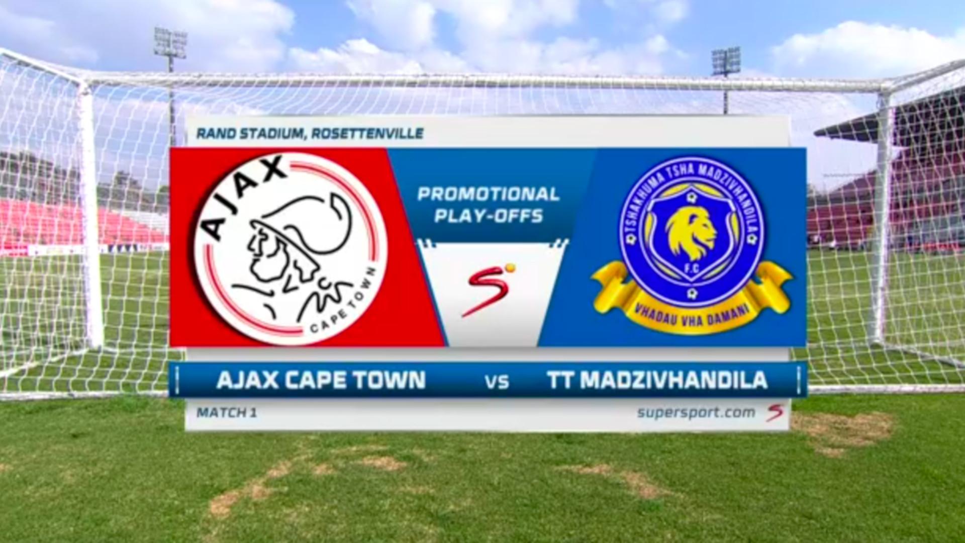GladAfrica Championship | Ajax Cape Town v Tshakhuma FC | Highlights