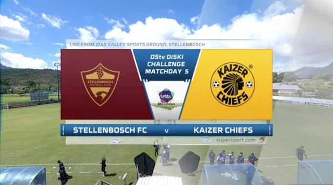 Diski Challenge l Stellenbosch FC u23 v Kaizer Chiefs u23 l Highlights