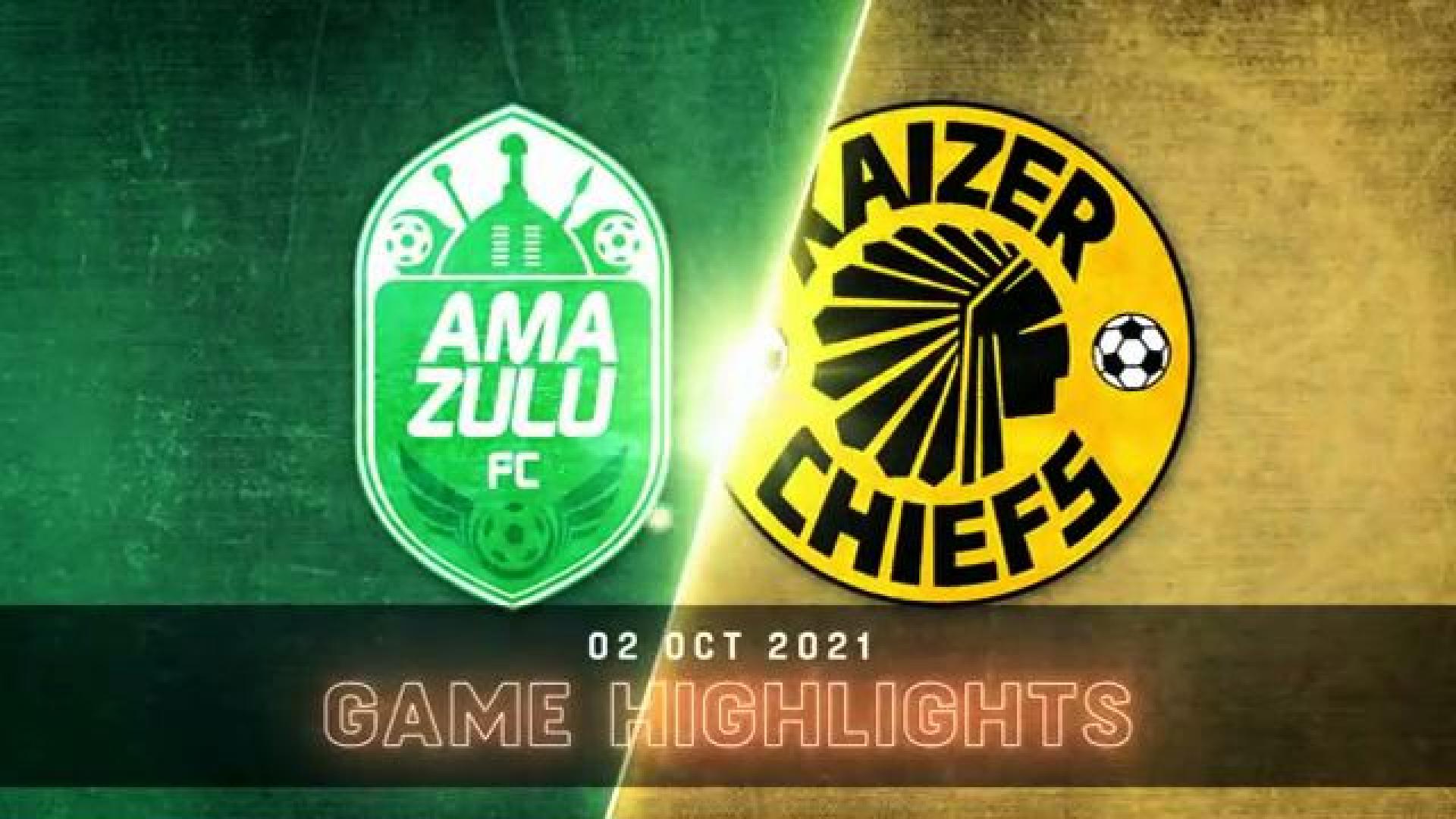 DStv Premiership | AmaZulu v Chiefs | Highlights