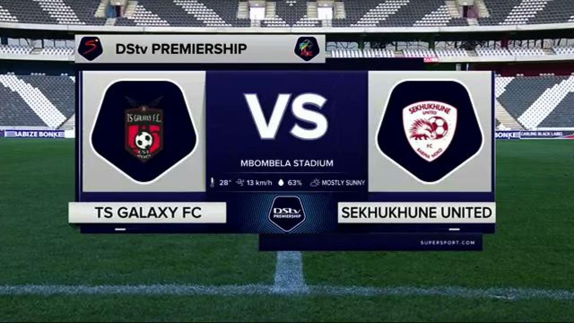 DStv Premiership | Galaxy v Sekhukhune | Highlights
