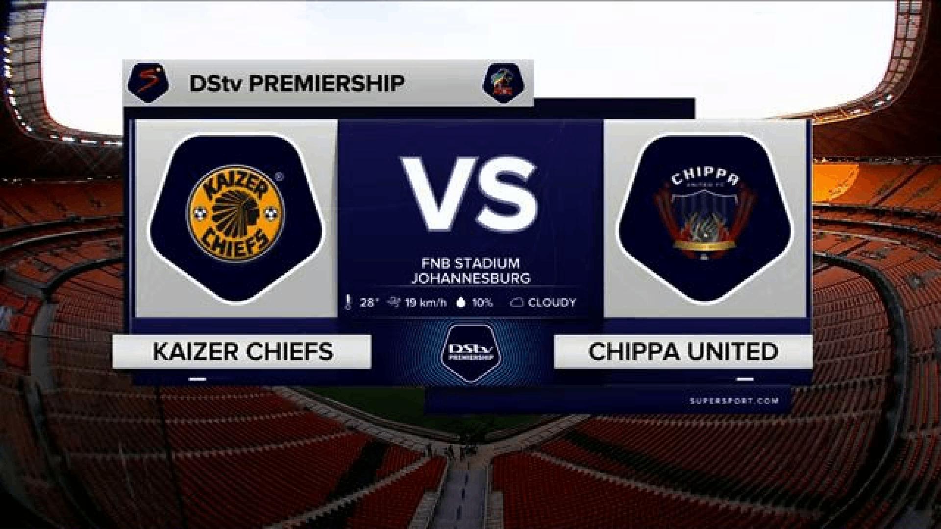 DStv Premiership | Kaizer Chiefs v Chippa United | Highlights