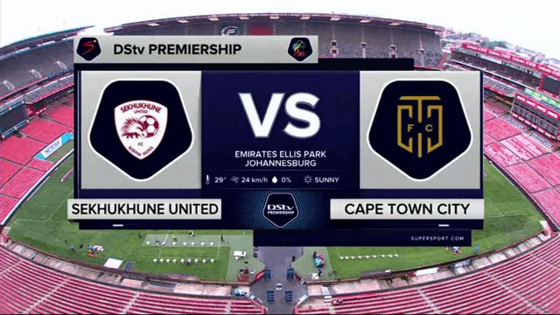DStv Premiership | Sekhukhune United v Cape Town City | Highlights