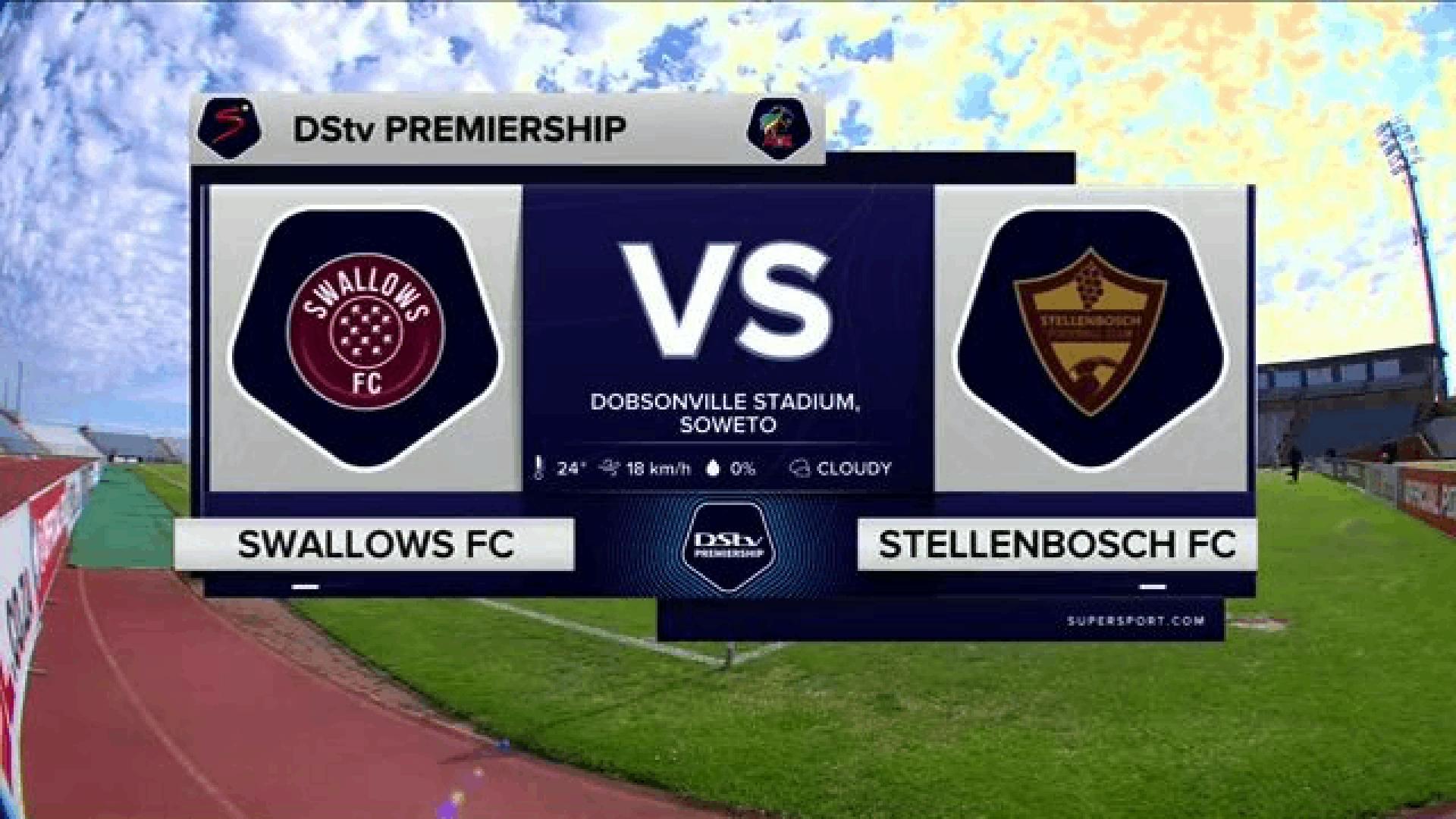 DStv Premiership | Swallows FC v Stellenbosch FC | Highlights
