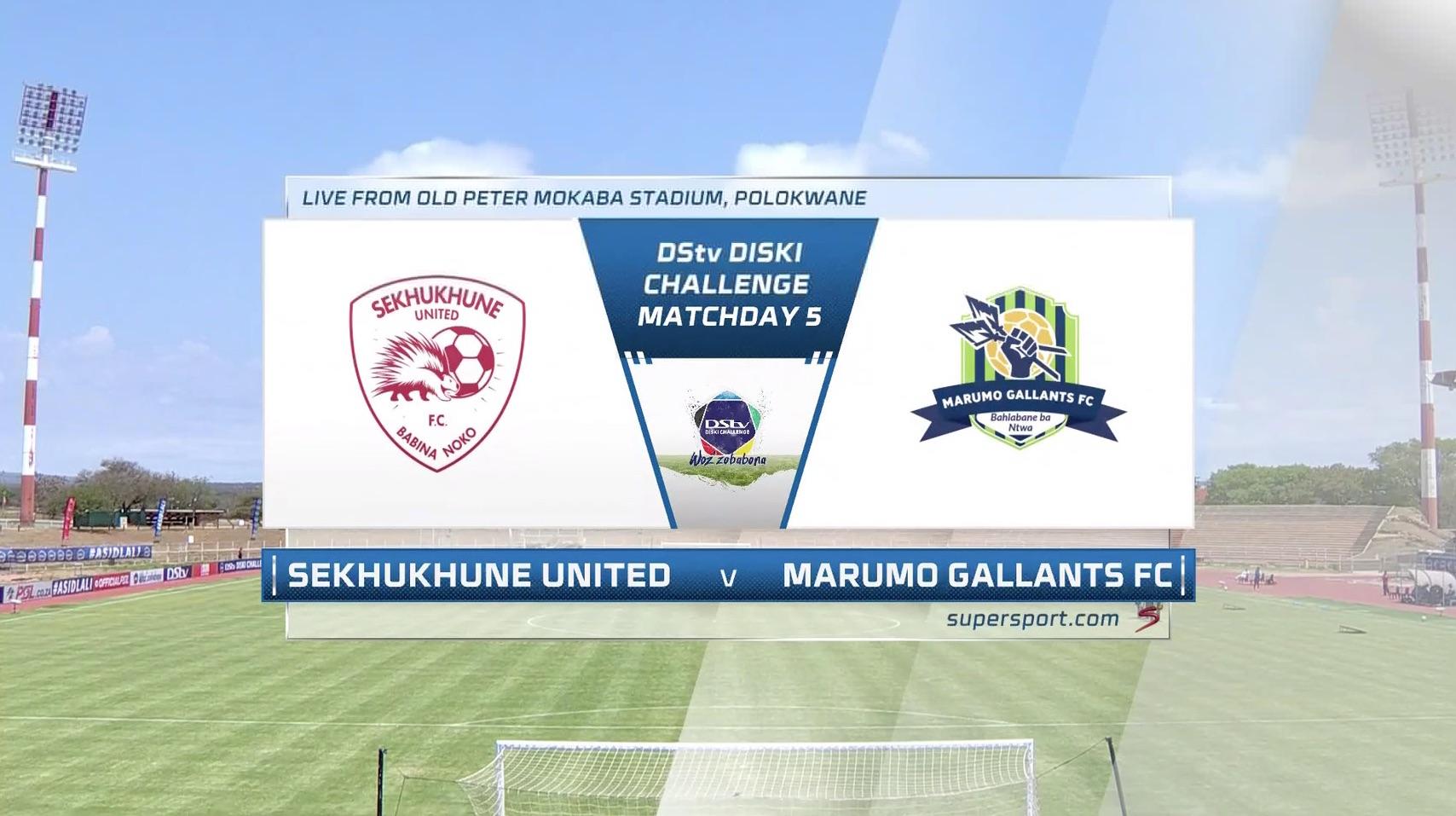 Diski Challenge | Sekhukhune United u23 v Marumo Gallants u23 | Highlights | Highlights